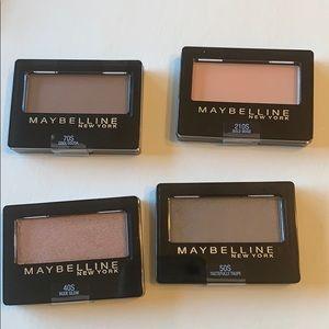 Maybelline Expertwear eyeshadow singles set of 4